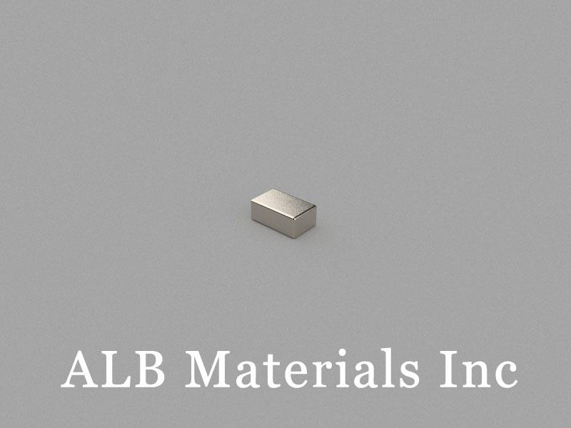 B5x3x2mm Neodymium Magnet, 5 x 3 x 2mm Block Magnet