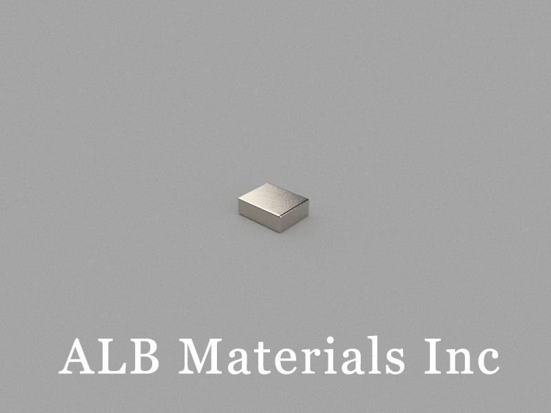 B5x4x1.7mm Neodymium Magnet, 5 x 4 x 1.7mm Block Magnet