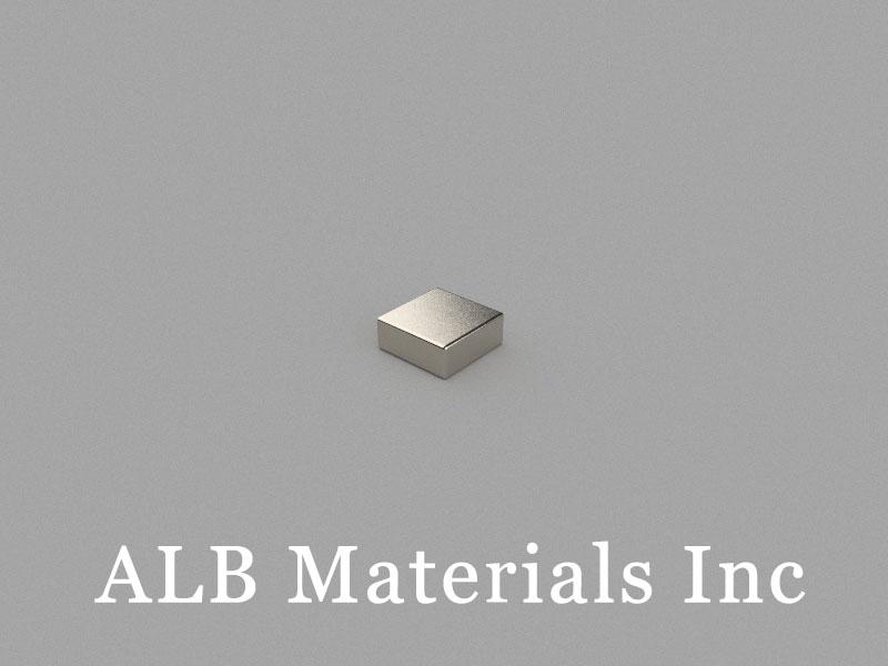 B5x5x2mm Neodymium Magnet, 5 x 5 x 2mm Block Magnet