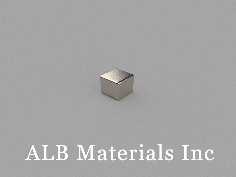 B5x5x4mm Neodymium Magnet, 5 x 5 x 4mm Block Magnet