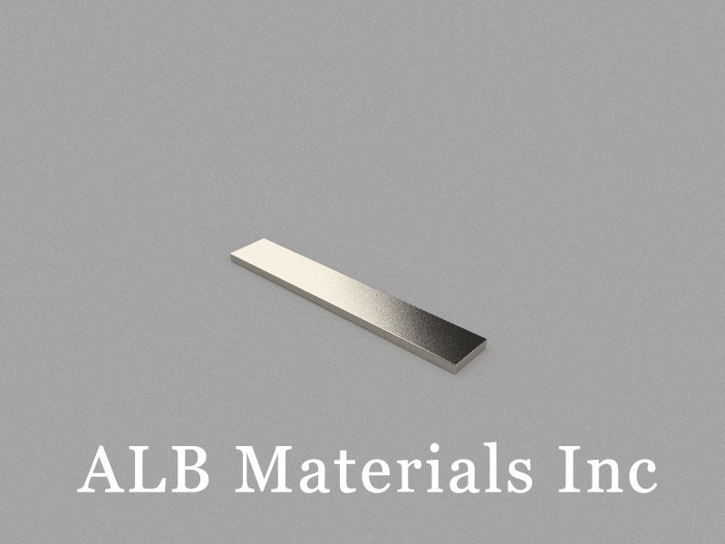 B60x10x2mm Neodymium Magnet, 60 x 10 x 2mm Block Magnet