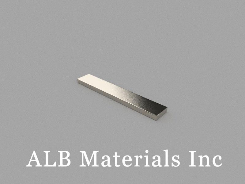B60x10x3mm Neodymium Magnet, 60 x 10 x 3mm Block Magnet