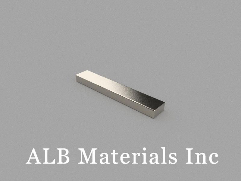 B60x10x5mm Neodymium Magnet, 60 x 10 x 5mm Block Magnet