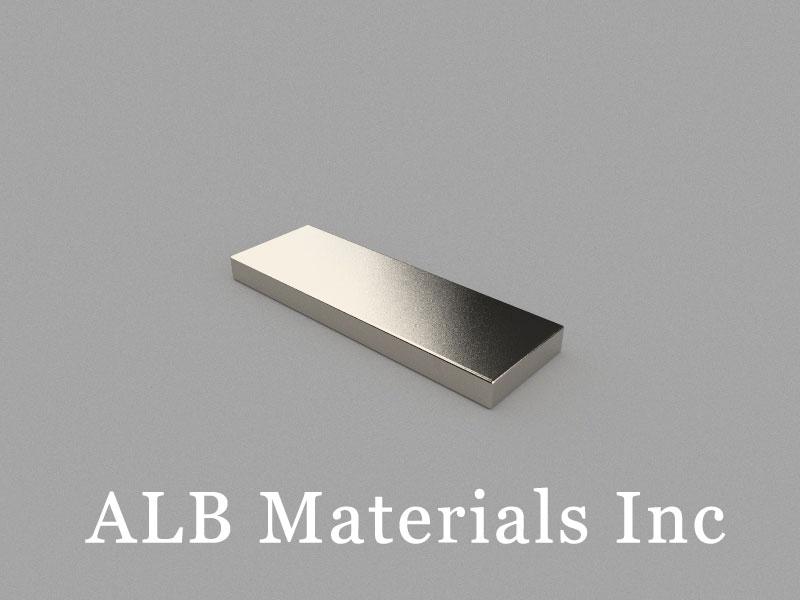 B60x20x5mm Neodymium Magnet, 60 x 20 x 5mm Block Magnet