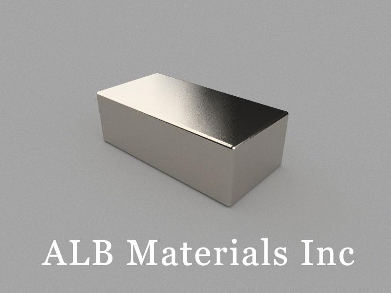 B60x30x20mm Neodymium Magnet, 60 x 30 x 20mm Block Magnet