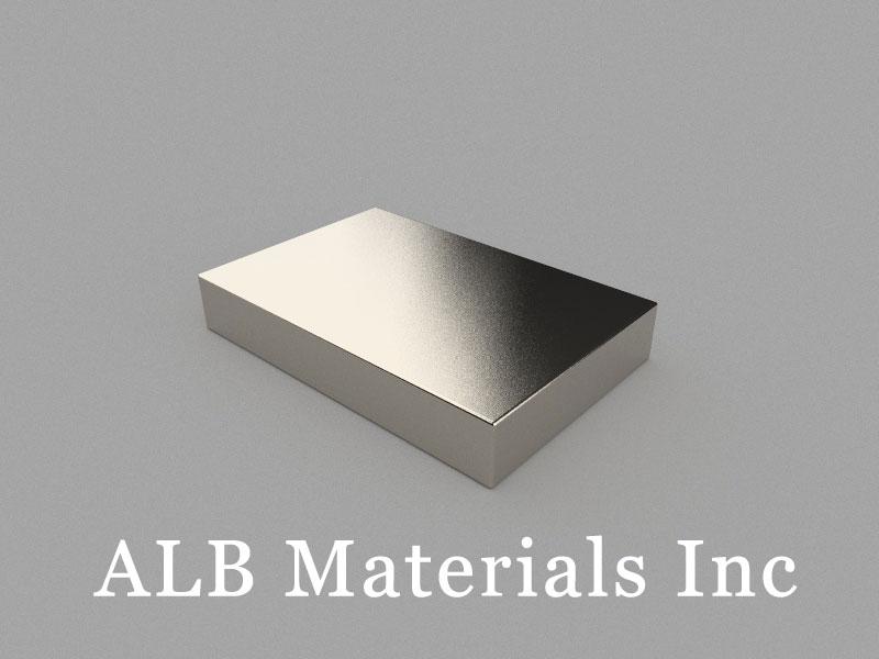 B60x40x10mm Neodymium Magnet, 60 x 40 x 10mm Block Magnet