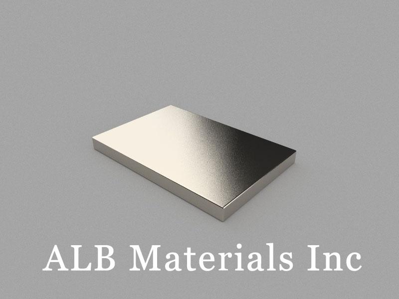 B60x40x5mm Neodymium Magnet, 60 x 40 x 5mm Block Magnet