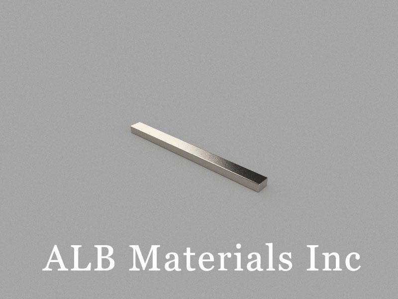 B60x5x3mm Neodymium Magnet, 60 x 5 x 3mm Block Magnet