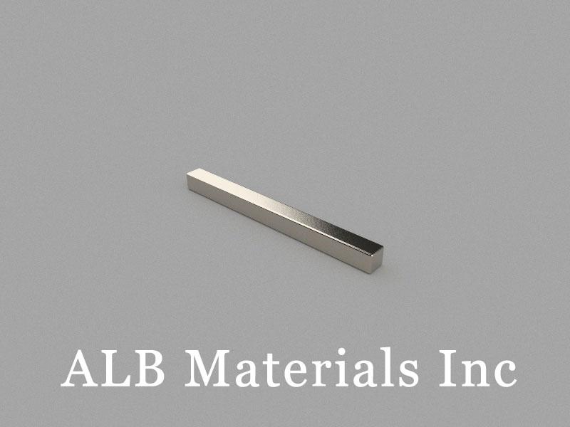 B60x5x5mm Neodymium Magnet, 60 x 5 x 5mm Block Magnet