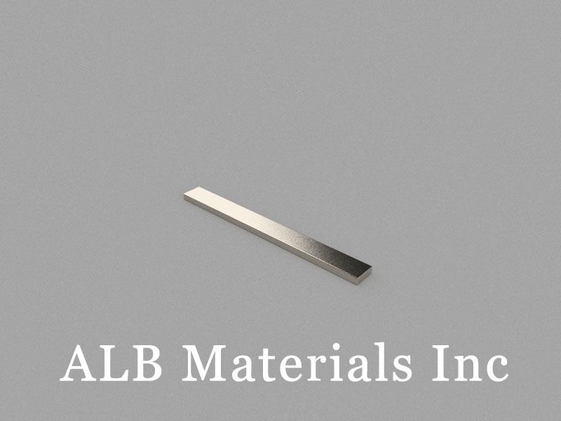B60x6x2mm Neodymium Magnet, 60 x 6 x 2mm Block Magnet