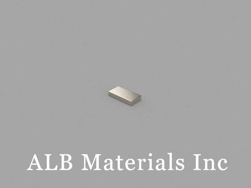 B6x3x1mm Neodymium Magnet, 6 x 3 x 1mm Block Magnet