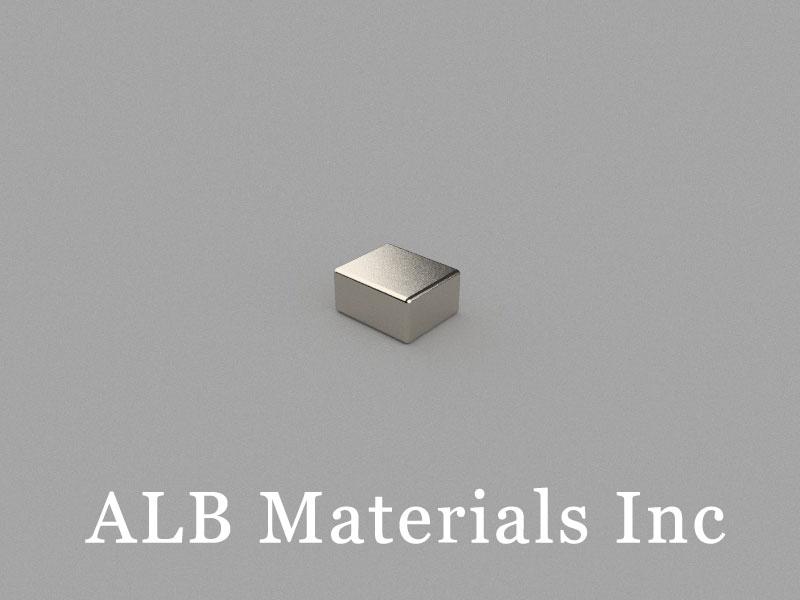 B6x5x3mm Neodymium Magnet, 6 x 5 x 3mm Block Magnet