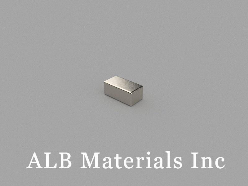 B7.2x3.7x3mm Neodymium Magnet, 7.2 x 3.7 x 3mm Block Magnet