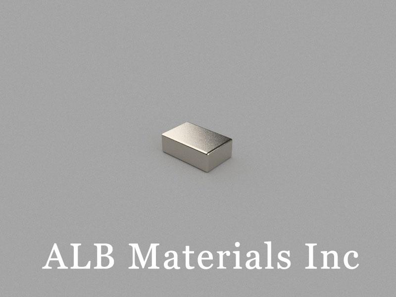 B7.5x4.8x2.6mm Neodymium Magnet, 7.5 x 4.8 x 2.6mm Block Magnet