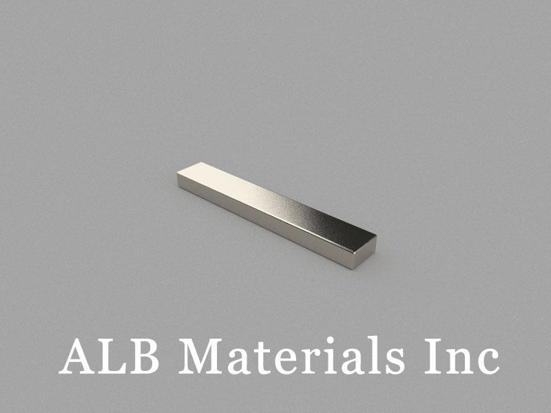 B75x12x6mm Neodymium Magnet, 75 x 12 x 6mm Block Magnet
