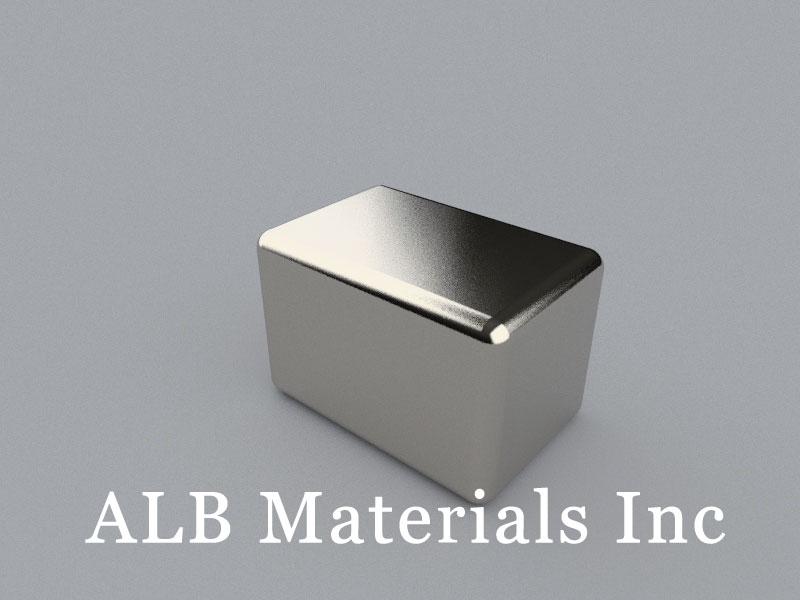 B-W50.8H50.8L76.2-N52 Neodymium Magnet, 76.2x50.8x50.8mm Block Magnet
