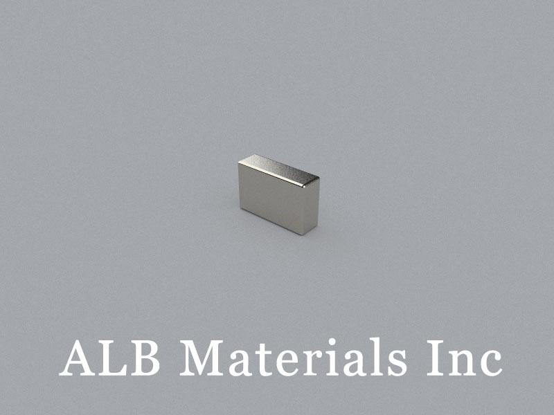 B-W2.8H5.7L8.8-N50 Neodymium Magnet, 8.8x2.8x5.7mm Block Magnet