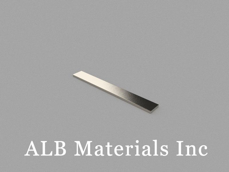 B80x10x2mm Neodymium Magnet, 80 x 10 x 2mm Block Magnet