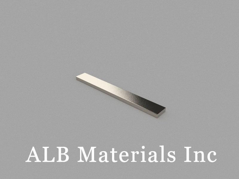 B80x10x3mm Neodymium Magnet, 80 x 10 x 3mm Block Magnet