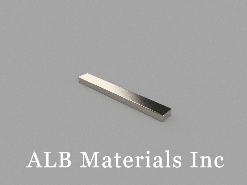 B80x10x5mm Neodymium Magnet, 80 x 10 x 5mm Block Magnet