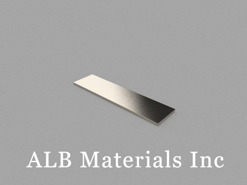 B80x20x2mm Neodymium Magnet, 80 x 20 x 2mm Block Magnet