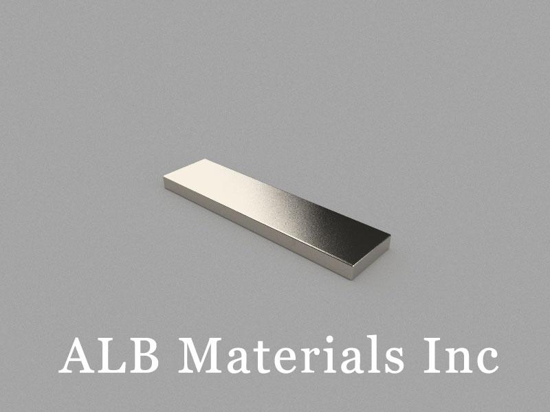 B80x20x5mm Neodymium Magnet, 80 x 20 x 5mm Block Magnet