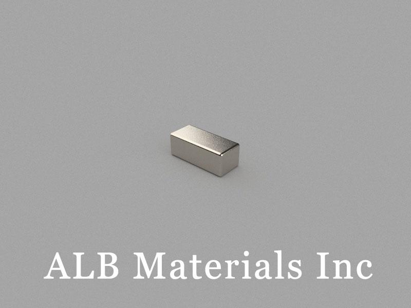 B8x3.5x3mm Neodymium Magnet, 8 x 3.5 x 3mm Block Magnet