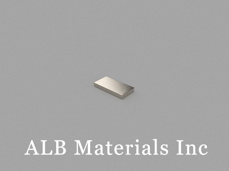 B8x4x1mm Neodymium Magnet, 8 x 4 x 1mm Block Magnet