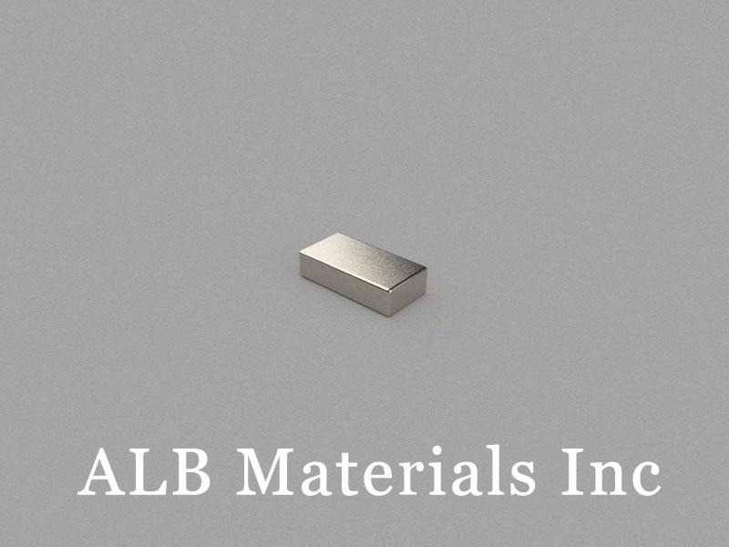 B8x4x2mm Neodymium Magnet, 8 x 4 x 2mm Block Magnet