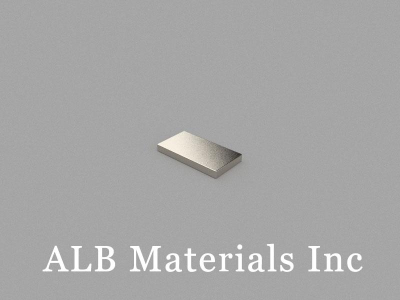 B9.5x5x1mm Neodymium Magnet, 9.5 x 5 x 1mm Block Magnet