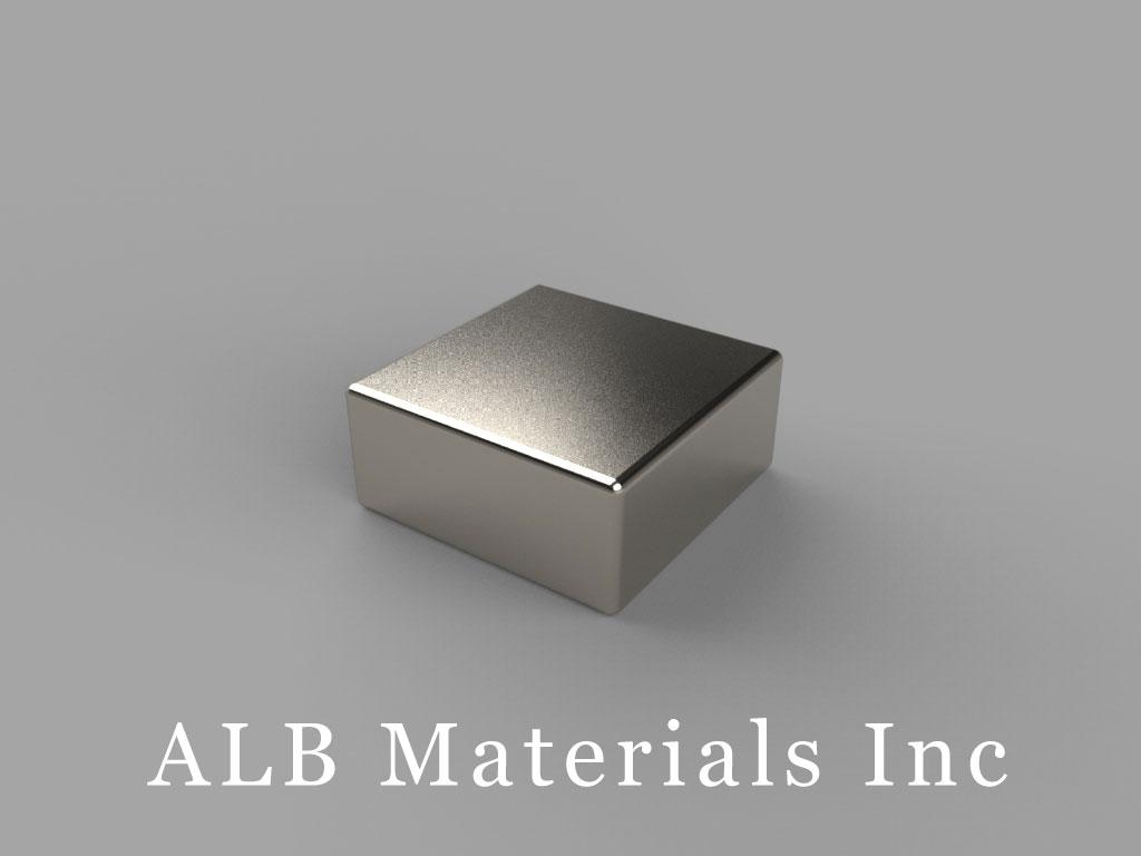 """B994 Neodymium Magnets, 9/16"""" x 9/16"""" x 1/4"""" thick"""