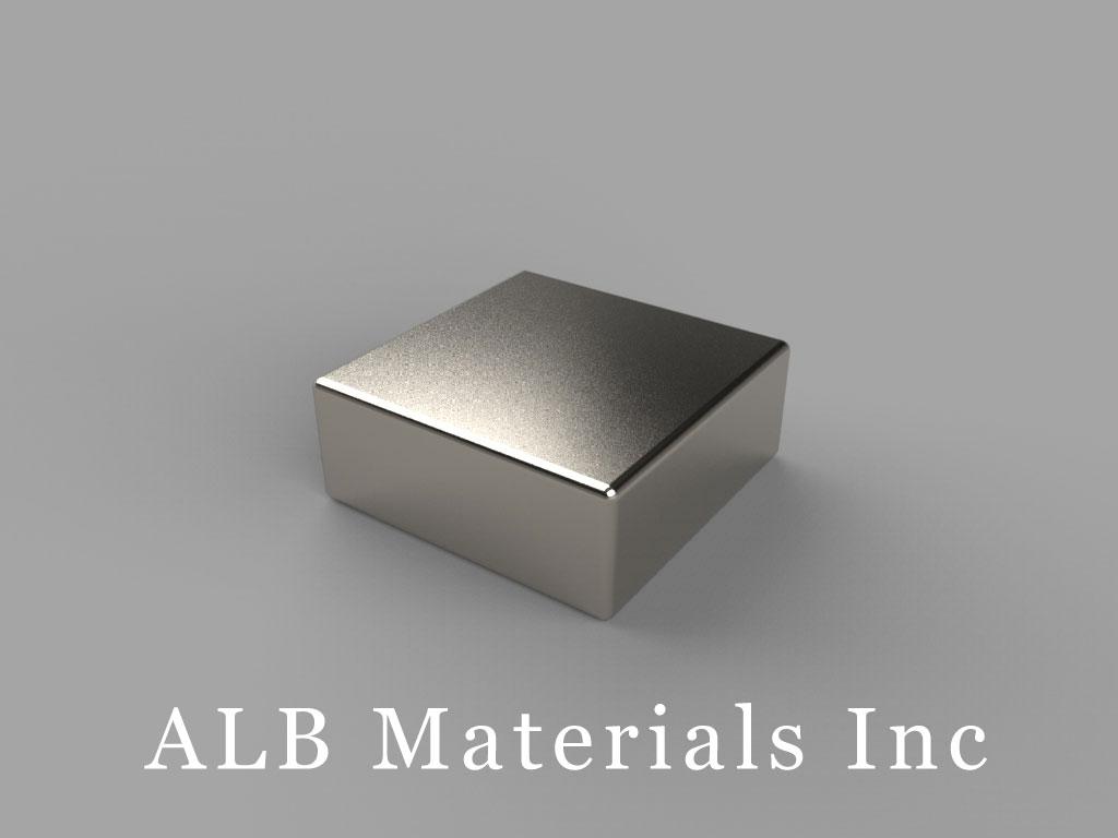 """BAA4 Neodymium Magnets, 5/8"""" x 5/8"""" x 1/4"""" thick"""