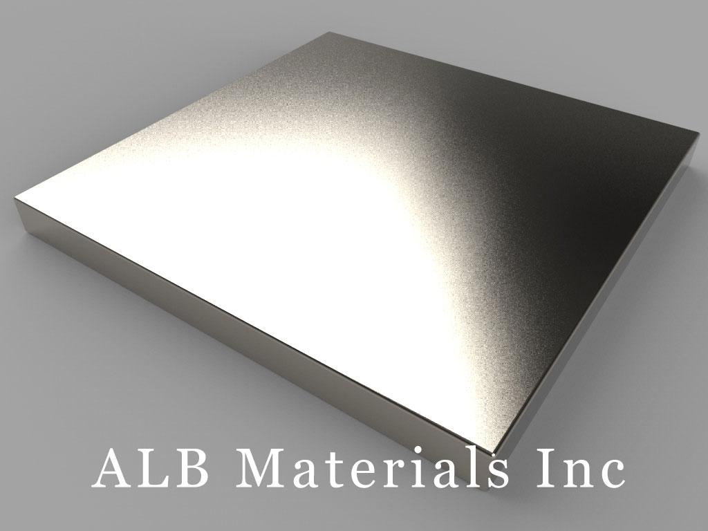 "BX8X82 Neodymium Magnets, 1 1/2"" x 1 1/2"" x 1/8"" thick"