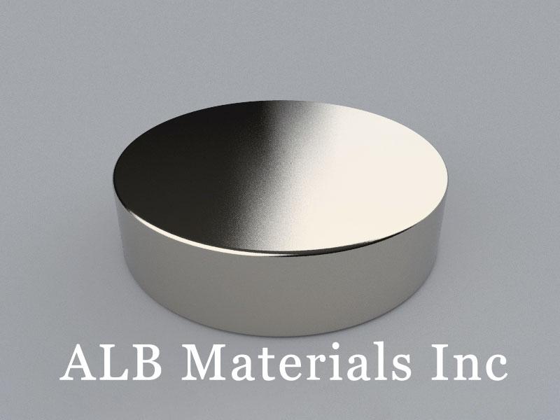D-D101.6H25.4-N38 Neodymium Magnet, 101.6x25.4mm Disc Magnet