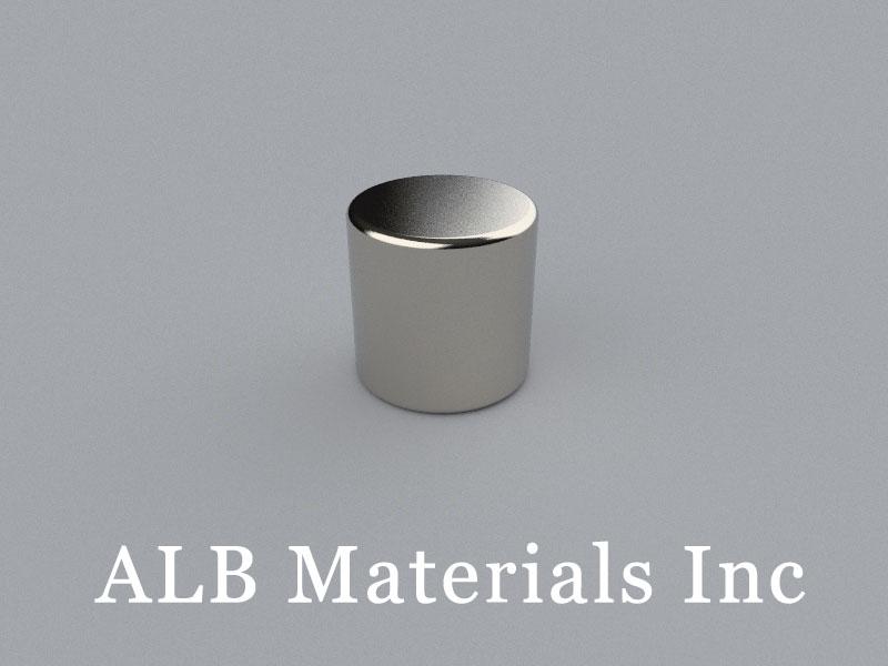 C-D12.7H12.7-N38 Neodymium Magnet, 12.7x12.7mm Cylinder Magnet