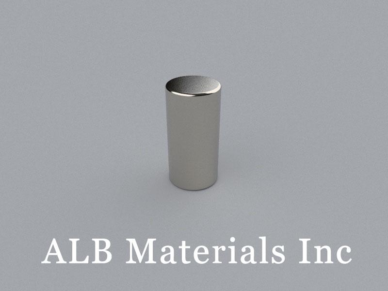 C-D12.7H25.4-N45 Neodymium Magnet, 12.7x25.4mm Cylinder Magnet