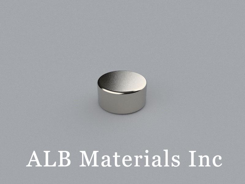 D-D12.7H6.35/BL Neodymium Magnet, 12.7x6.35mm Disc Magnet