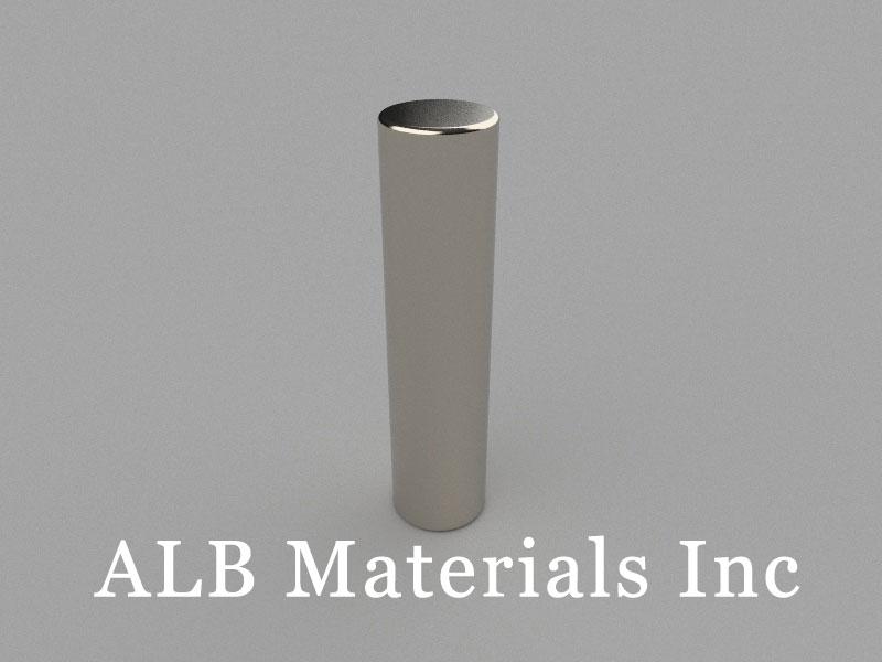 C-D12H50-N48 Neodymium Magnet, 12x50mm Cylinder Magnet