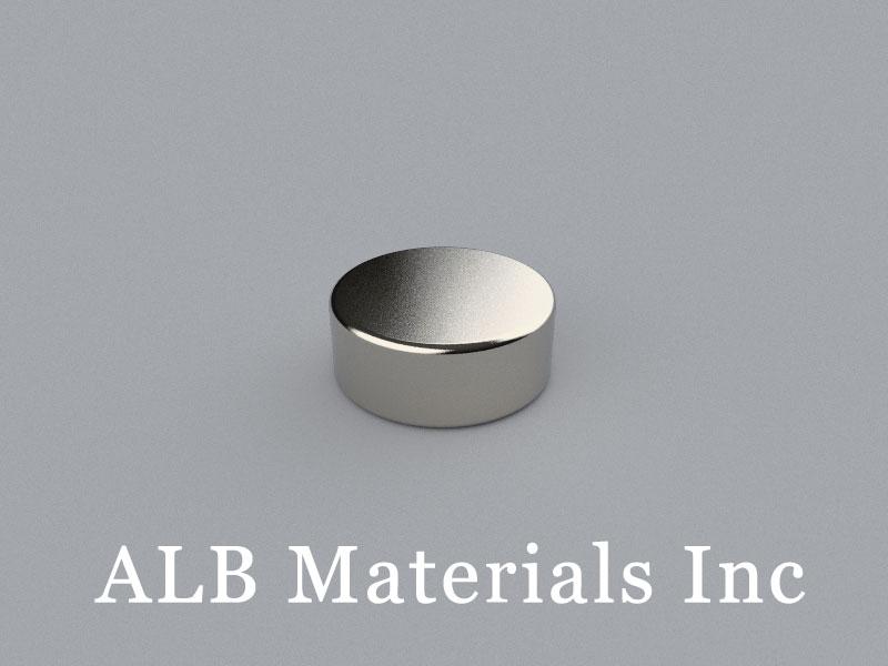 D-D15.88H6.35-N52 Neodymium Magnet, 15.88x6.35mm Disc Magnet