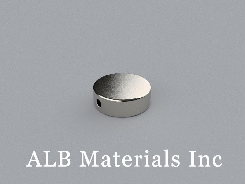 D-D15H5/d2-N42 Neodymium Magnet, 15x5mm Disc Magnet