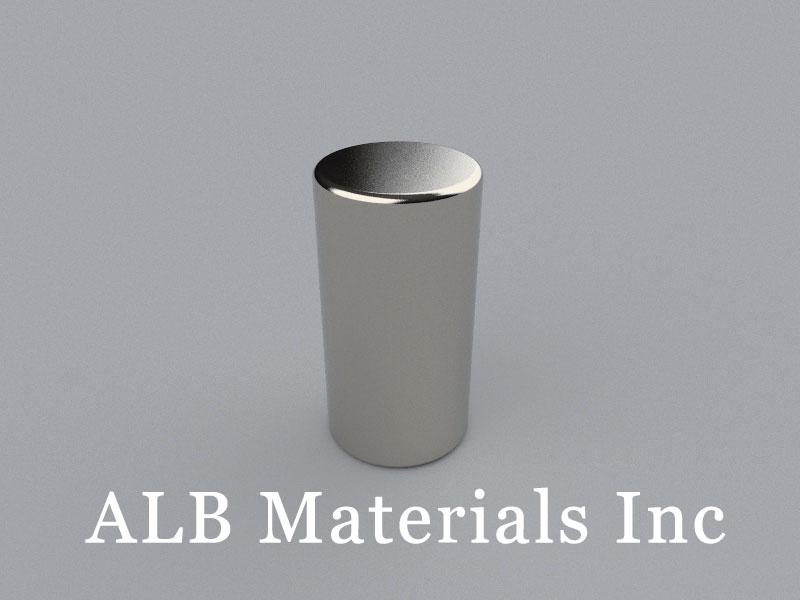 C-D17.2H33.05-N50 Neodymium Magnet, 17.2x33.05mm Cylinder Magnet