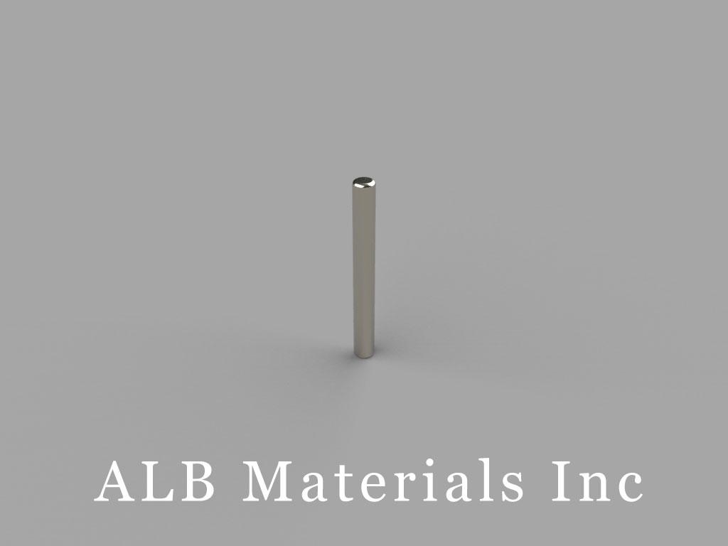 D19 Neodymium Magnets, 1/16 inch dia. x 9/16 inch thick