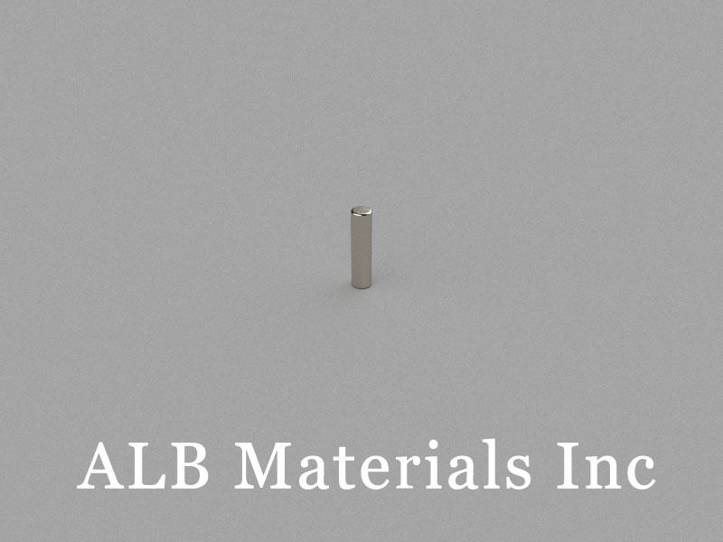 D1x4mm Neodymium Magnet, 1 x 4mm Cylinder Magnet