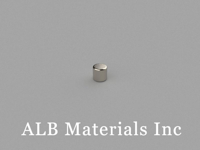C-D2.5H2.5-N50 Neodymium Magnet, 2.5x2.5mm Cylinder Magnet