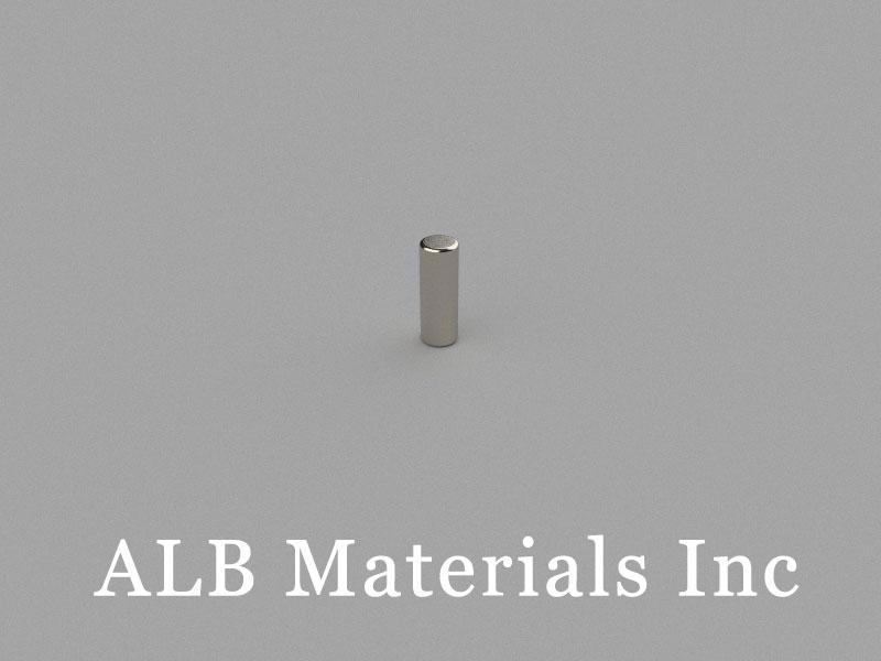 D2.5x7mm Neodymium Magnet, 2.5 x 7mm Cylinder Magnet