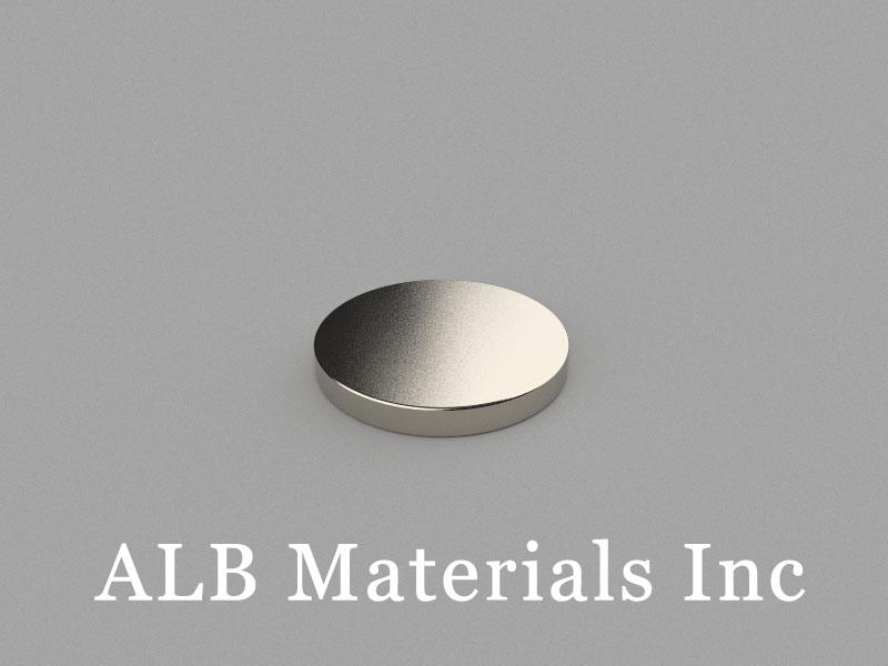 D20x2.5mm Neodymium Magnet, 20 x 2.5mm Disc Magnet