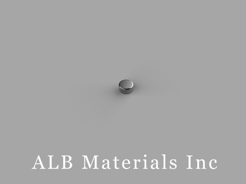D21B-N52 Neodymium Magnets, 1/8