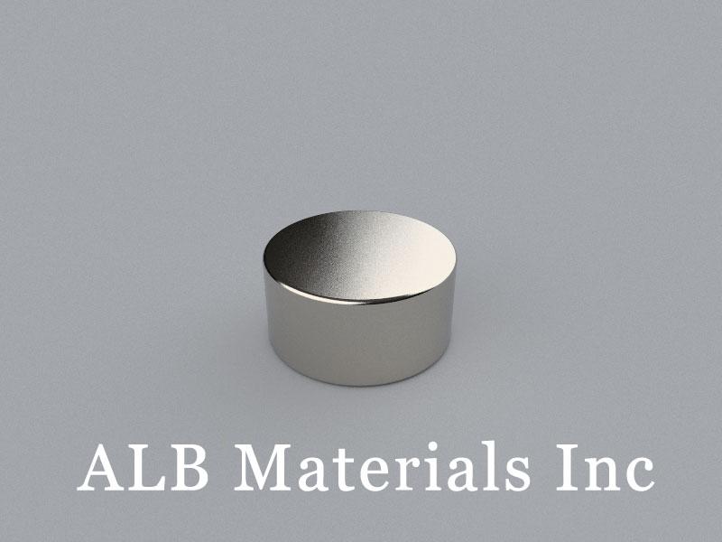 D-D25.4H12.7-N38 Neodymium Magnet, 25.4x12.7mm Disc Magnet