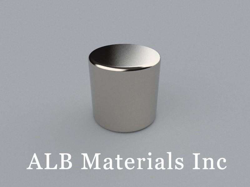 C-D25.4H25.4-N42 Neodymium Magnet, 25.4x25.4mm Cylinder Magnet