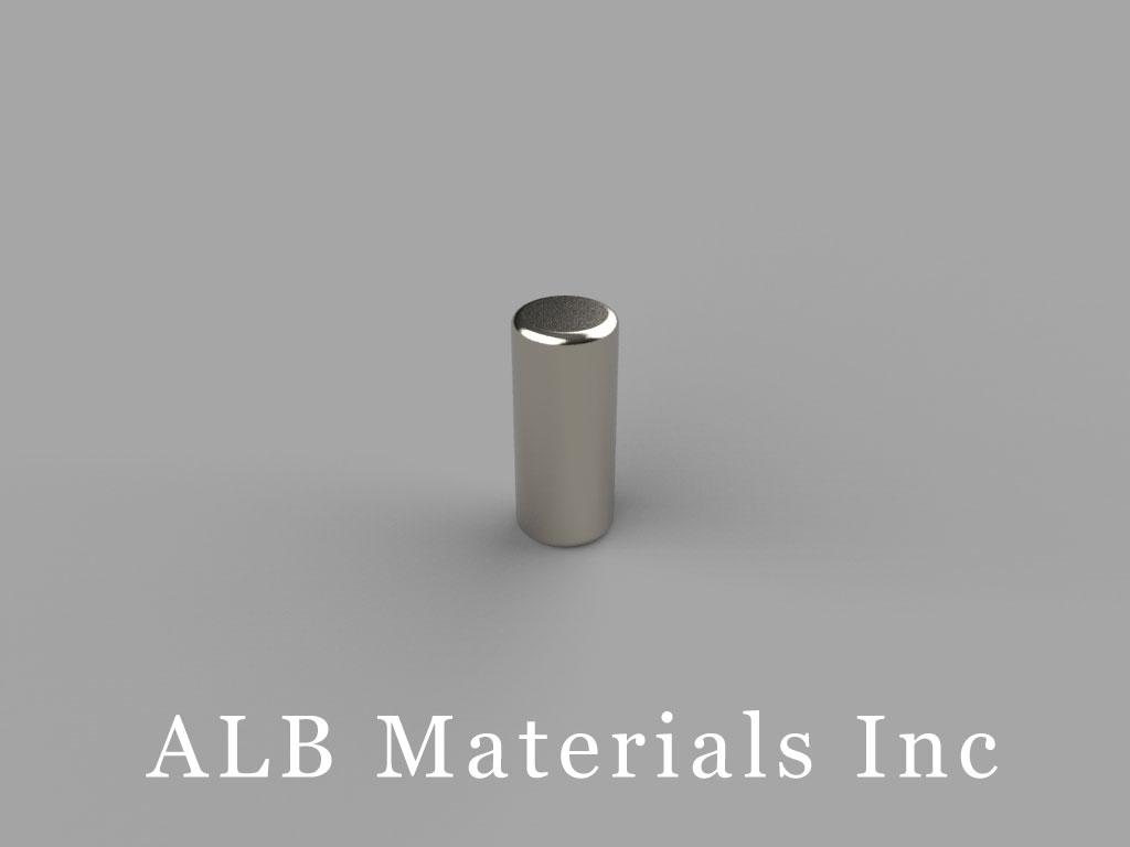 D37 Neodymium Magnets, 3/16 inch dia. x 7/16 inch thick